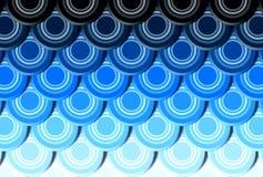 Fondo del extracto del azulejo de azotea Ilustración del Vector
