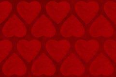 Fondo del extracto del día de tarjetas del día de San Valentín con forma del corazón Imágenes de archivo libres de regalías