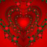 Fondo del extracto del día del ` s de la tarjeta del día de San Valentín Imagen de archivo libre de regalías