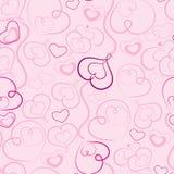 Fondo del extracto del día de tarjeta del día de San Valentín Imagenes de archivo