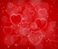 Fondo del extracto del día de tarjeta del día de San Valentín Imagen de archivo libre de regalías
