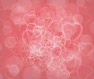 Fondo del extracto del día de tarjeta del día de San Valentín Fotos de archivo