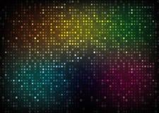 Fondo del extracto del espectro de color Imagen de archivo