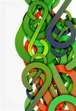 Fondo del extracto del nudo de la raya libre illustration