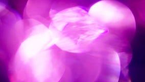 Fondo del extracto del estilo del disco Tonos púrpuras y azules fríos resolución 4K almacen de video