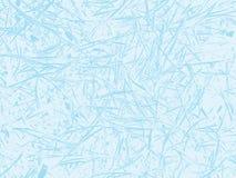 Fondo del extracto del vidrio esmerilado del invierno Textura realista de la ventana congelada Contexto de la nieve Ilustración d Fotos de archivo