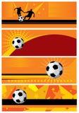 Fondo del fútbol Imagen de archivo