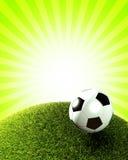 Fondo del fútbol Imagenes de archivo