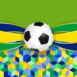 Fondo del fútbol Fotos de archivo