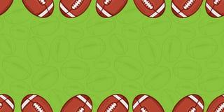 Fondo del fútbol americano - deporte Imagenes de archivo