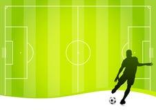 Fondo del fútbol (vector) ilustración del vector
