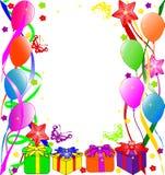 Fondo del feliz cumpleaños Imágenes de archivo libres de regalías
