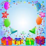 Fondo del feliz cumpleaños Imagenes de archivo