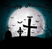 Fondo del feliz Halloween Imagen de archivo libre de regalías