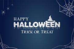 Fondo del feliz Halloween Imagenes de archivo
