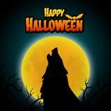 Fondo del feliz Halloween Foto de archivo libre de regalías