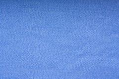 Fondo del feltro del blu Fotografia Stock Libera da Diritti