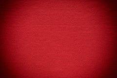 Fondo del feltro di rosso Fotografia Stock