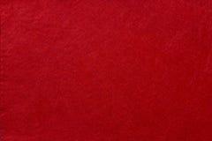 Fondo del feltro di rosso fotografia stock libera da diritti