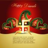 Fondo del festival de Diwali Fotografía de archivo libre de regalías