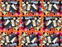 Fondo del filo colorato Immagini Stock Libere da Diritti
