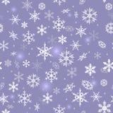 Fondo del fiocco di neve Fotografia Stock
