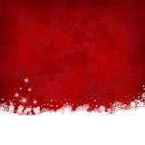 Fondo del fiocco di neve di Natale illustrazione vettoriale