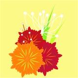 Fondo del fiore della molla di vettore royalty illustrazione gratis