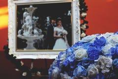 Fondo del fiore di nozze e di nozze dell'immagine fotografia stock libera da diritti