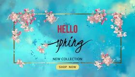 Fondo del flor de la primavera libre illustration