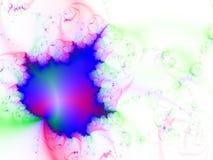 Fondo del fractal Imagenes de archivo