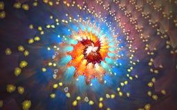Fondo del fractal Fotos de archivo