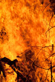 Fondo del fuego Foto de archivo