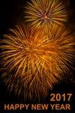 Fondo del fuoco d'artificio Fotografie Stock Libere da Diritti