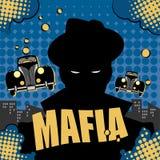 Fondo del gangster o della mafia Fotografia Stock Libera da Diritti
