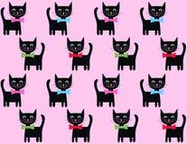 Fondo del gatto Immagini Stock