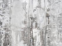 Fondo del ghiaccio di inverno Fotografia Stock
