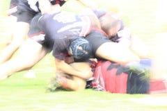 Fondo del giocatore di rugby Immagini Stock