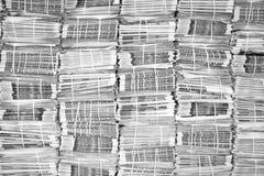 Fondo del giornale Immagini Stock