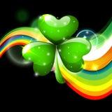 Fondo del giorno di St Patrick Immagine Stock Libera da Diritti