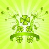 Fondo del giorno di St Patrick Fotografie Stock Libere da Diritti