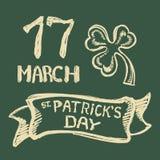 Fondo del giorno di St Patrick Immagini Stock