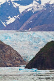 Fondo del glaciar Fotografía de archivo libre de regalías