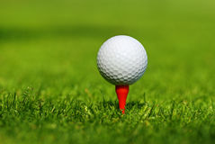 Fondo del golf Fotos de archivo
