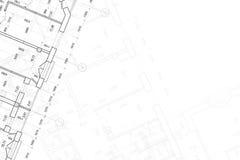 Fondo del gráfico arquitectónico imagenes de archivo