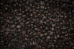 Fondo del grano de café imagenes de archivo