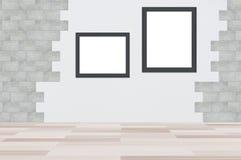 Fondo del gris del marco de Hoto Fotografía de archivo libre de regalías