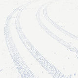 Fondo del Grunge con la pista negra del neumático Ilustración del vector ilustración del vector
