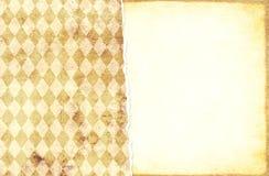 Fondo del Grunge con la vieja textura de papel de colores beige y amarillos fotografía de archivo libre de regalías