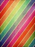Fondo del Grunge con las rayas coloreadas Imagen de archivo